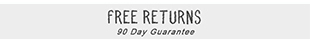 Free Returns - 90 Day Guarantee