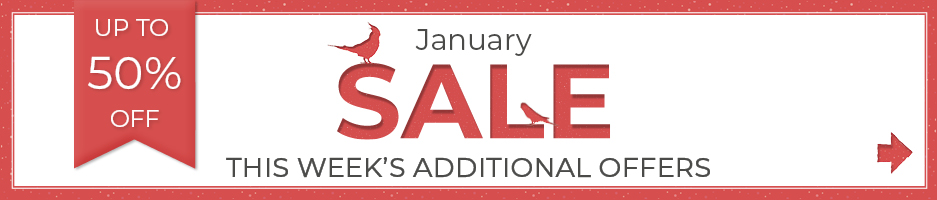 Check out this week's savings in our January Sale