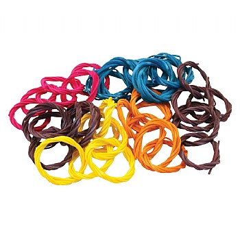 Willow Ring Chains - Toy Making Parts - Pack of 6