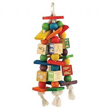 Northern Parrots Jumble Stacks Parrot Toy