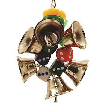 Northern Parrots Bell Ringer Parrot Toy