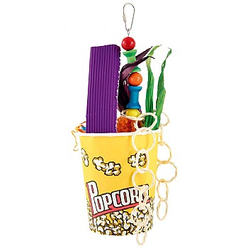 Movie Munch Time Chewable Foraging Parrot Toy