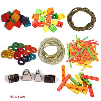 Parrot Toy Making Parts Value Kit