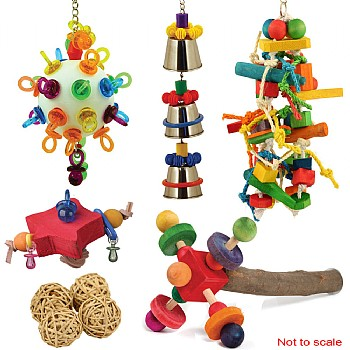 African Grey Toy Sale Pack