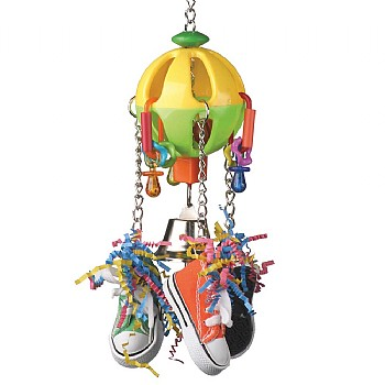 Kick Ball Parrot Toy