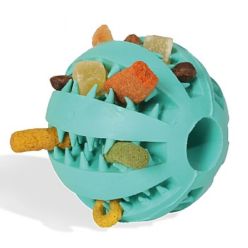 Jaws Ball Rubber Foraging Toy