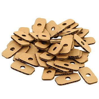 Cardboard Slice Refills for Parrot Toys - Small