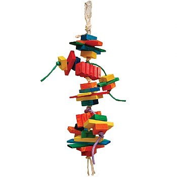 Groovy Beetle Parrot Toy Medium