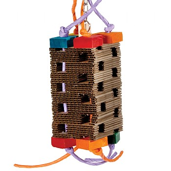 High Tower Foraging Parrot Toy - Medium