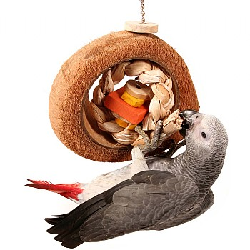 Coco Eclipse - Large Natural Parrot Toy