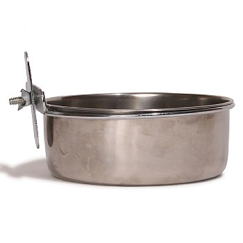 Stainless Steel Coop Cup with Clamp Holder - 30oz
