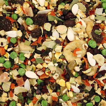 Fruit & Veggie Parrot Treat Mix - 200g
