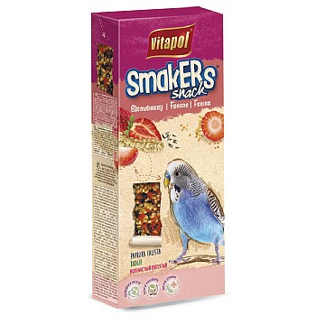 Vitapol Budgie Sticks Twinpack - Strawberry