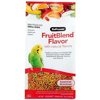 ZuPreem FruitBlend Small - Complete Food for Budgies