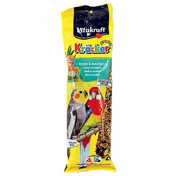 Vitakraft Vitakraft Cockatiel Treat Sticks Honey & Eucalyptus