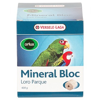 Versele Laga Loro Parque Mineral Block for Parrots - 400g