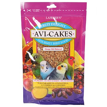 Lafeber Fruit Delight AviCakes for Cockatiels - 227g