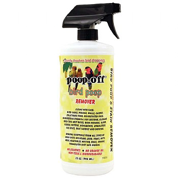 Poop Off Poop-Off Bird Clean Up Liquid - 3 Sizes