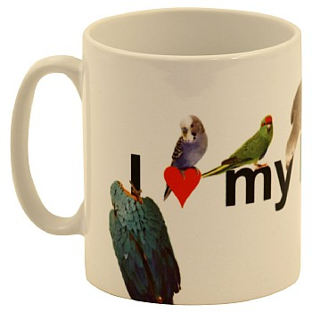 Northern Parrots I Love My Parrot Mug