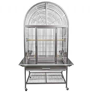 Kings Cages King`s Aluminium ACA3325 Arch Top Parrot Cage