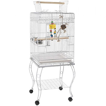 Gama Top Opening Small Parrot Cage with Stand