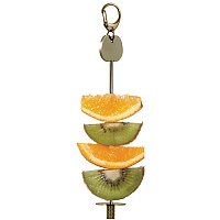 Fruit Holder - Entry Level Foraging Toy for Parrots