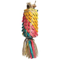 Woven Wonders Coloured Pinata Parrot Toy - Medium