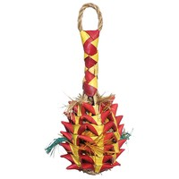 Woven Wonders Foraging Pineapple Parrot Toy - Small