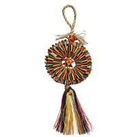 Woven Wonders Shredding Tyre Parrot Toy - Small