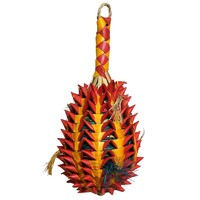 Woven Wonders Foraging Pineapple Parrot Toy - Large