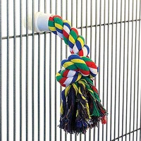 Cotton Rope Parrot Preening Toy - Large