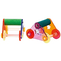 Roller Skates - Large - Trick Training Parrot Toy