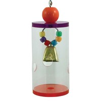 Jingle Foraging Barrel Parrot Toy