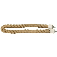 Jute Rope Parrot Perch - Medium - 1