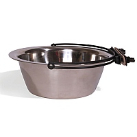 Stainless Steel Secura Coop Cup - 1 litre - Parrot Bowl
