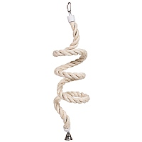 Parrot Boing - Sisal Spiral Bouncing Perch - Medium