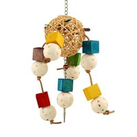 Balls and Blocks Parrot Toy
