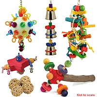 African Grey Parrot Toy Sale Pack