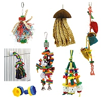 Awesome Autumn Parrot Toy Pack