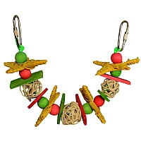 Christmas Garland Parrot Toy - Small