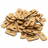 50 Cardboard Slice Refills for Parrot Toys - Small