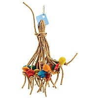 Itsy Bitsy Paper Rope Spiddy Parrot Toy Large