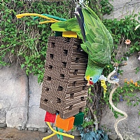 High Tower Foraging Parrot Toy - Large
