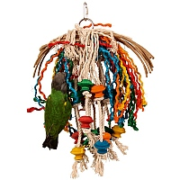 Toopet - Preenable Parrot Toy - Medium