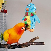 Festive Mini Penguin Pinata Parrot Toy Fill Your Own