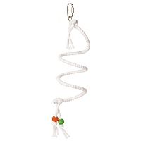 Supreme Cotton Spiral Spring Pet Bird Perch