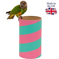 Polly Pipe Parrot Hideaway Chewable Tube - Medium