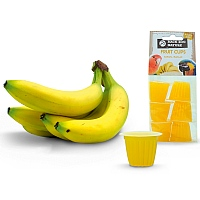 Fruit Cups Banana - Jelly Parrot Treats - Pack of 6