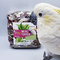 Polly`s Natural Organic Parrot Meal Topper - Rose