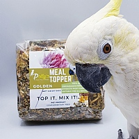 Polly`s Natural Organic Parrot Meal Topper - Golden